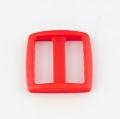 Stegschnalle 25mm rot