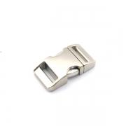 Alu-Max Schnellverschluss 20mm silber satiniert