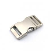 Alu-Max Schnellverschluss 25mm silber satiniert verstellbar