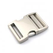 Alu-Max Schnellverschluss 38mm silber satiniert verstellbar