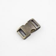 Alu-Max Schnellverschluss 15mm altmessing