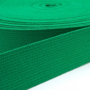 Baumwoll-Gurtband grün 30mm