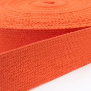 Baumwoll-Gurtband orange 30mm