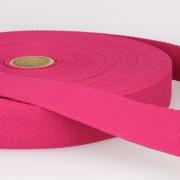 Gurtband Baumwolle pink 30mm