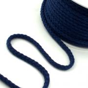 Baumwollkordel 8mm dunkelblau