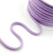 Baumwollkordel 5,3mm lavendel