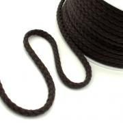 Baumwollkordel 8mm dunkelbraun