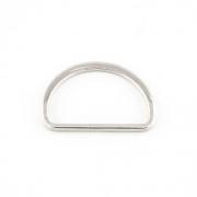 10 Stück D-Ring 25mm flach