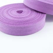 Schrägband lavendel aus Baumwolle 20mm