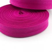 Schrägband pink aus Baumwolle 20mm