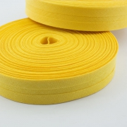 Schrägband butterblume gelb aus Baumwolle 20mm