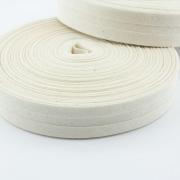 Schrägband natur aus Baumwolle 20mm