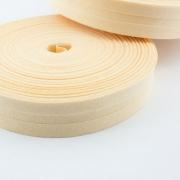 Schrägband pfirsich aus Baumwolle 20mm