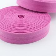 Schrägband hellpink aus Baumwolle 20mm
