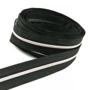 5 Meter Endlosreißverschluss silber 3mm