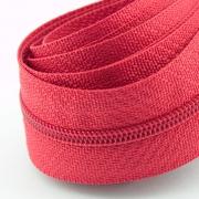 5 Meter Endlosreißverschluss rot 3mm