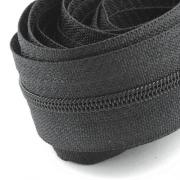 5 Meter Endlosreißverschluss schwarz 3mm