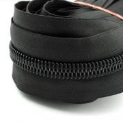 5m Endlosreißverschluss schwarz 10mm