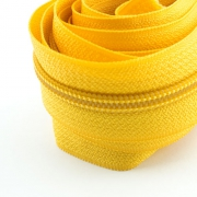 5 Meter Endlosreißverschluss butterblume gelb 5mm