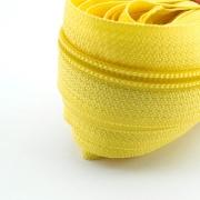 5 Meter Endlosreißverschluss gelb 5mm
