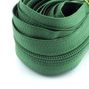 5 Meter Endlosreißverschluss kleeblattgrün 5mm