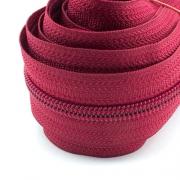 5 Meter Endlosreißverschluss tango rot 5mm