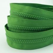 5m Profil-Endlosreißverschluss grün 5mm