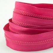5m Profil-Endlosreißverschluss pink 5mm