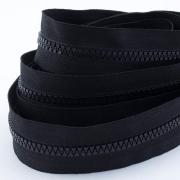 5m Profil-Endlosreißverschluss schwarz 5mm