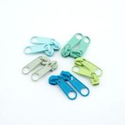 10 Schieber für Set Grüntöne 3mm