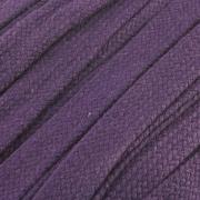 Flachkordel Hoodiekordel lila 20mm Baumwolle