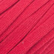 Flachkordel Hoodiekordel rot 20mm Baumwolle