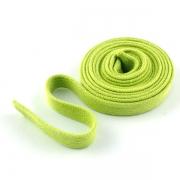 Flachkordel Hoodiekordel hellgrün 15mm Baumwolle