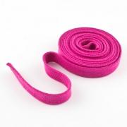 Flachkordel Hoodiekordel pink 15mm Baumwolle