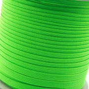 5m Gummiband 7mm neon grün