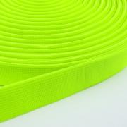 Gummiband neon gelb 20mm