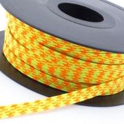 Gummiband 8mm neon-gelb neon-orange