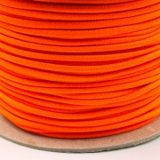 Gummikordel 3mm neon orange