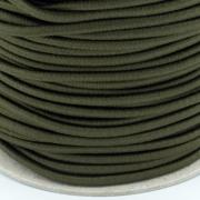 Gummikordel 3mm oliv