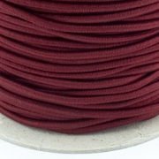 Gummikordel 3mm bordeaux