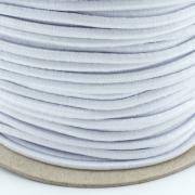 Gummikordel 3mm weiß