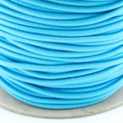 Gummischnur 3mm hellblau