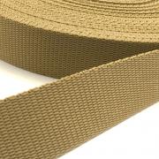 Hochwertiges Gurtband beige 30mm