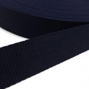 Hochwertiges Gurtband dunkelblau 30mm