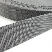 Hochwertiges Gurtband grau 30mm