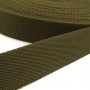 Hochwertiges Gurtband oliv 25mm