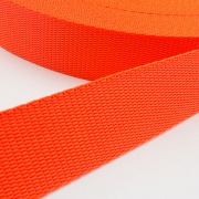 Hochwertiges Gurtband orange 30mm