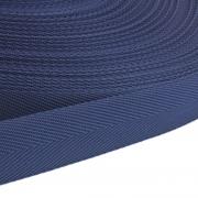 Polypropylen-Einfassband Köperband dunkelblau 25mm