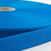 Gurtband 25mm Made in Germany azurblau