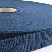 Gurtband 25mm Made in Germany marineblau